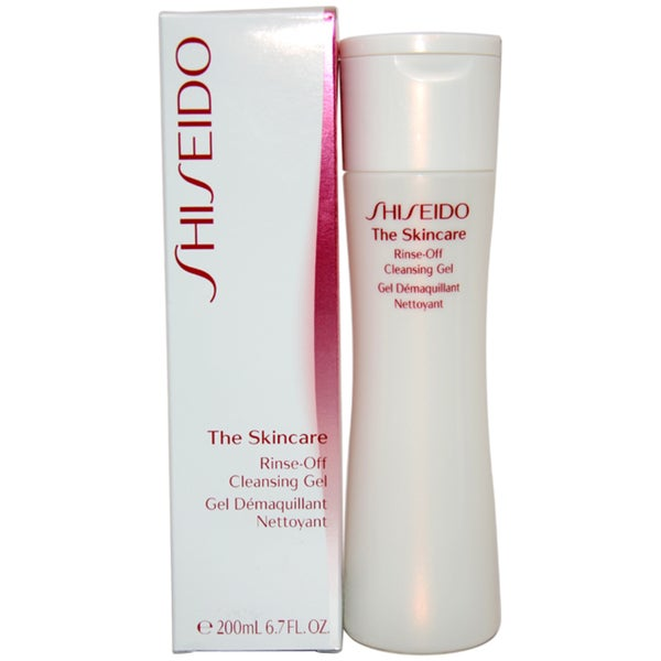 Shiseido The Skincare Rinse-off Unisex 200 ml Cleansing Gel