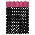 Hot Dot Modern Shower Curtain