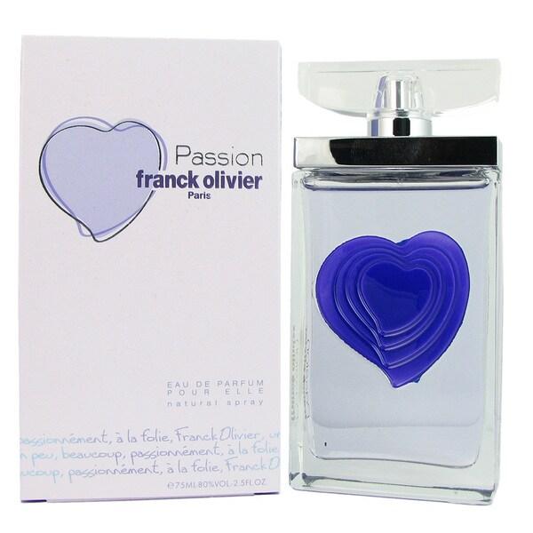 Franck Olivier Passion Franck Olivier Women's 2.5-ounce Eau de Parfum Spray