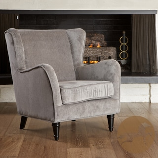 Christopher Knight Home Flores Grey Jacquard Club Chair