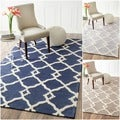 Rug Collective Handmade Moroccan Trellis Wool Rug