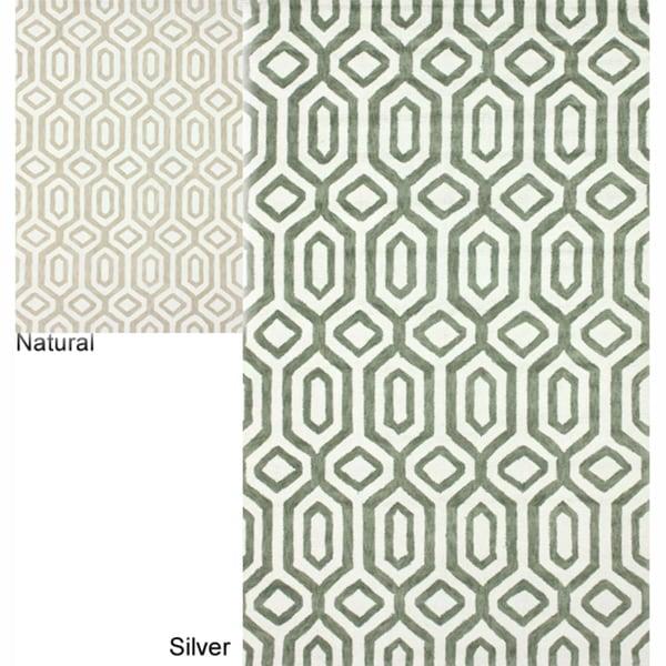 nuLOOM Handmade Marrakesh Trellis Cotton Chenille Rug (5' x 8')