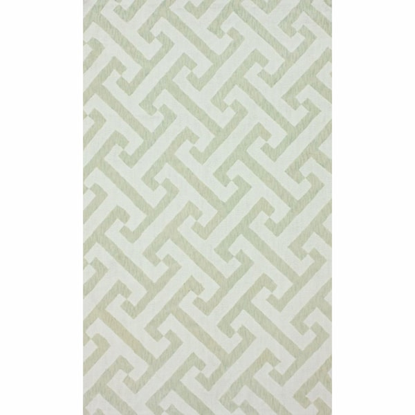 nuLOOM Handmade Marrakesh Trellis Contemporary Cotton Chenille Rug (5' x 8')