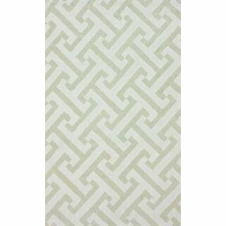 nuLOOM Handmade Marrakesh Trellis Cotton Chenille Rug (7'6 x 9'6)