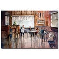 Ryan Radke 'Dinner for Two' Canvas Art