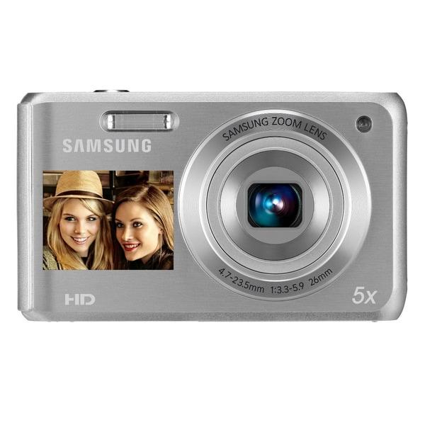 Samsung DV101F 16.1MP Dual-View Silver Digital Camera