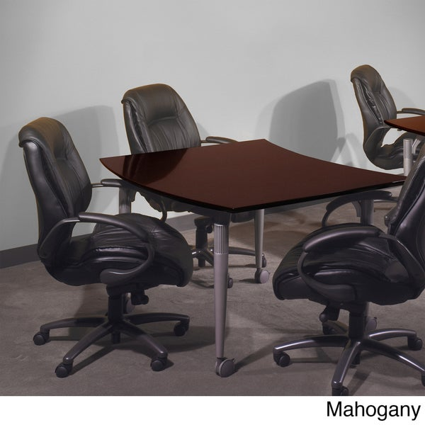 Mayline Napoli Series Veneer Conclave Conference Table
