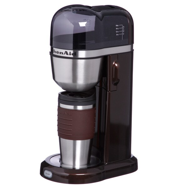 KitchenAid KCM0402ES Espresso Finish Personal Coffee Maker