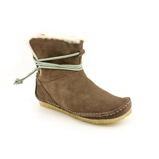 Clarks Originals Women's 'Faraway Plateau' Regular Suede Boots