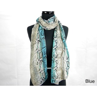 Snake Print Fashion Scarf
