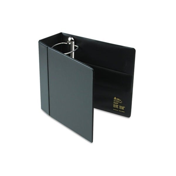 Avery Heavy-duty Vinyl EZD Black 5-inch Reference Binder With Label Holder (Pack of 2)
