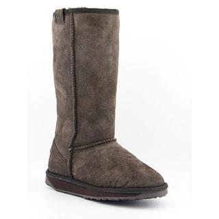 Emu Australia Women's 'Stinger Hi' Regular Suede Boots (Size 7)