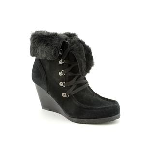 Marc Fisher Women's 'Bath' Black Regular Suede Boots
