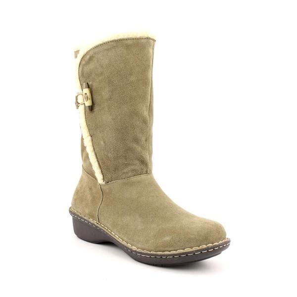 Anne Klein Sport Women's 'Kresent' Regular Suede Boots (Size 8.5)