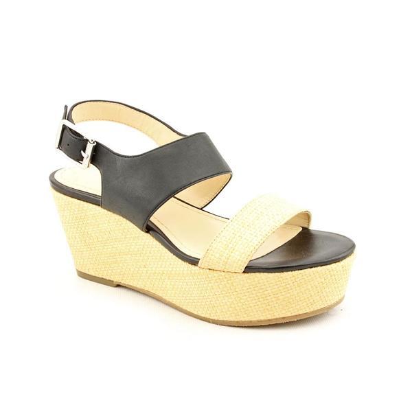 Calvin Klein Women's 'Lorraine' Leather Sandals (Size 6)