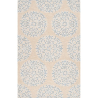 Hand-tufted Turin Winter Sky Blue Rug (8' x 10'6)