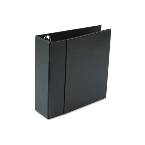 Avery Heavy-Duty Vinyl EZD Ring Reference 4-inch Capacity Black Binder (Pack of 4)