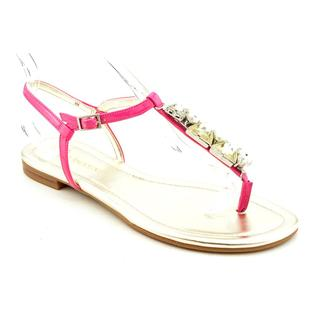 Enzo Angiolini Women's 'Tootsy' Pink Synthetic Sandals