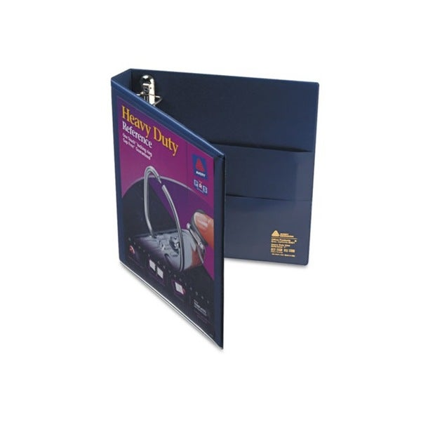 Avery Nonstick Heavy-Duty EZD 1-inch Capacity Navy Blue Reference View Binder (Pack of 12)