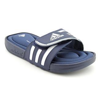 Adidas Boy's 'Adissage FitFOAM K' Man-Made Sandals