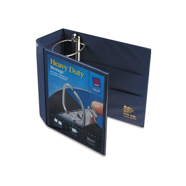 Avery Nonstick Heavy-Duty EZD 5-inch Capacity Navy Blue Reference View Binder (Pack of 2)