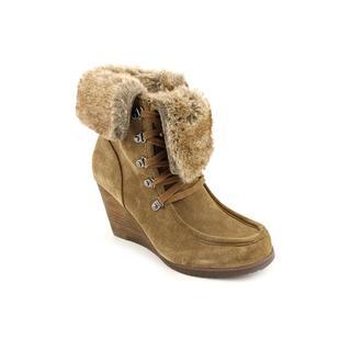 Marc Fisher Women's 'Bath' Brown Regular Suede Boots