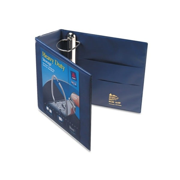 Avery Nonstick Heavy-Duty EZD 4-inch Capacity Navy Blue Reference View Binder (Pack of 4)