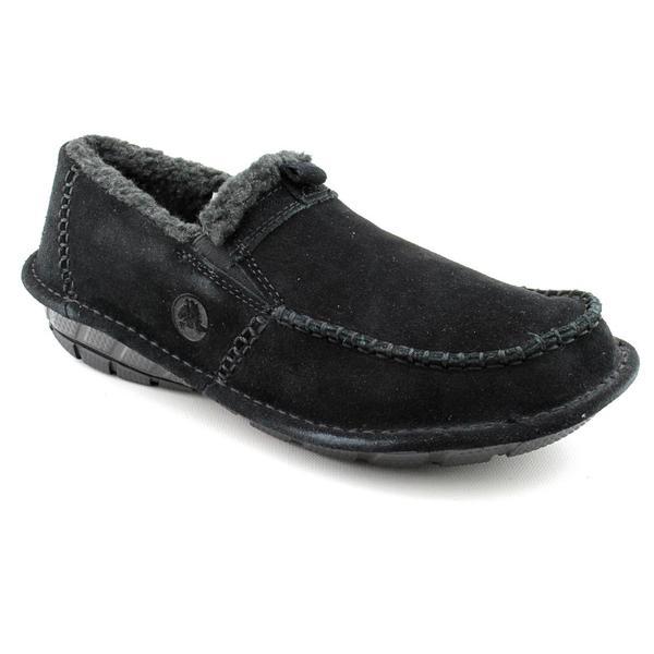 Crocs Men's 'Croccasin' Regular Suede Casual Shoes