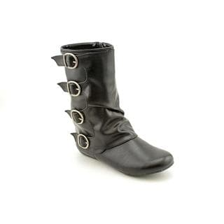 Mia Kids Girl's 'Forrest' Faux Leather Boots (Size 1)