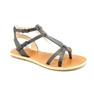 Via Spiga Women's 'Diana2' Black Leather Sandals