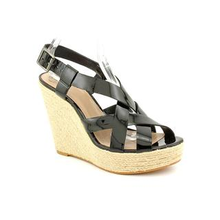 Vince Camuto Women's 'Hattie' Black Patent-Leather Sandals