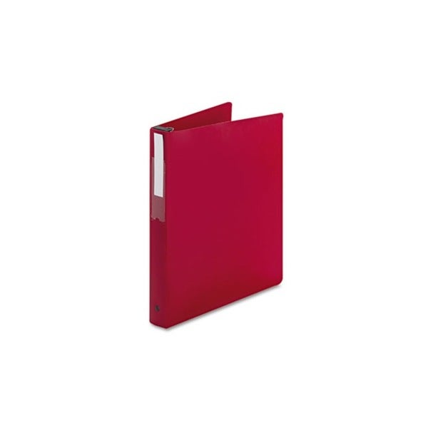 Avery Red 1-inch Capacity Hanging File Poly-ring Binders (Pack Of 12)