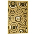 Generations Champagne Abstract Stellar Rug (5'2 x 7'2)