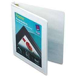 Avery White Framed View Slant Ring Binders (Pack of 12)
