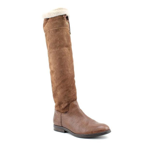 Coach Women's 'Teresa' Regular Suede Boots (Size 7)