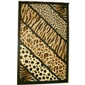Generations Abstract Skins 75 Rug (5'2 x 7'2)