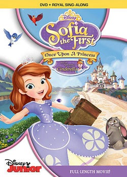 Sofia The First: Once Upon A Princess (DVD)