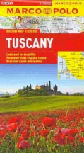 Marco Polo Tuscany Holiday Map (Sheet map, folded)