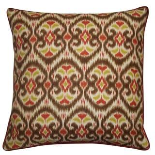 Jiti Bali Tan 20-inch Decorative Pillow