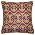 Jiti Bali Red 20-inch Decorative Pillow