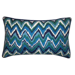 Jiti Zikat Blue 12x20-inch Decorative Pillow