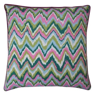 Jiti Zikat Pink 20-inch Decorative Pillow