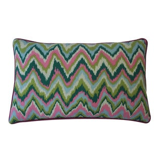 Jiti Pillows Zikat Pink 12x20-inch Decorative Pillow
