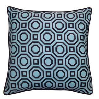 Jiti Labyrinth Blue 20-inch Decorative Pillow