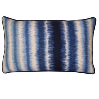 Jiti Static Blue 12x20-inch Decorative Pillow