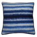 Jiti Static Blue 20-inch Decorative Pillow
