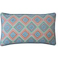 Jiti Pillows 'Square' Blue 12-inch x 20-inch Pillow