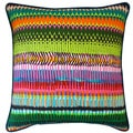 Jiti Pillows 'Fire' Multicolored 20-inch Pillow