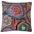 Jiti 'Native' Multicolored 20-inch Pillow