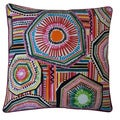 Jiti Pillows 'Native' Multicolored 20-inch Pillow